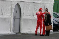 Kimi Raikkonen ve Jean Todt