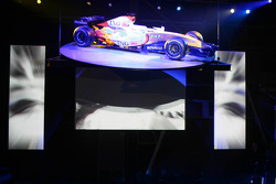 The Renault R27 is unveiled