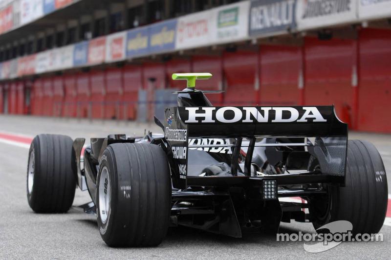 Jenson Button, Honda, RA107
