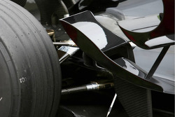 Detail of the Honda RA107