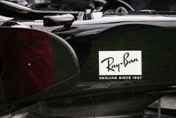 Honda RA107: Seitenpartie