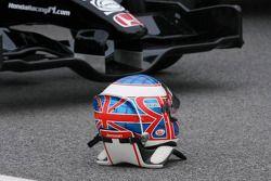 Helm von Jenson Button, Honda