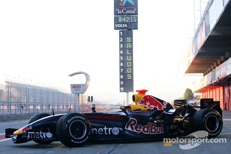 EL Red Bull Racing RB3