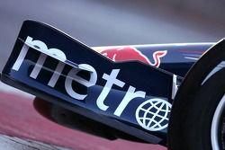 Red Bull Racing RB3:Frontflügel