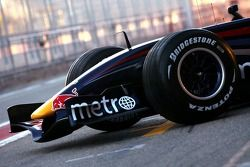 Red Bull Racing RB3: Frontpartie