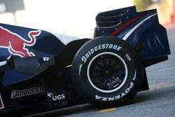 Red Bull Racing RB3: Heckpartie