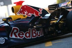 Red Bull Racing RB3: Seitenpartie