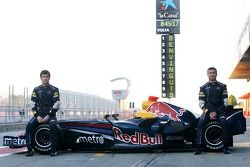 David Coulthard y Mark Webber