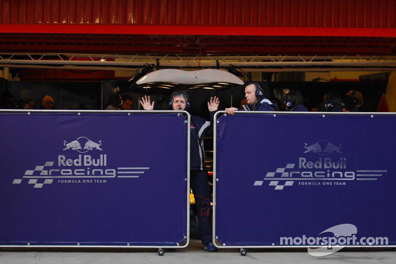 Red Bull Racing RB3 shakedown is about to start