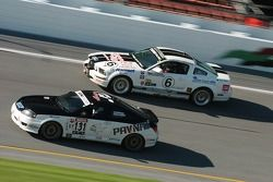 #131 GT Racing Hyundai Tiburon: Jean-Philippe Papineau, Simon Dion-Viens et #6 Blackforest Motorsports Mustang GT: Stan Wilson, Chris Brannon