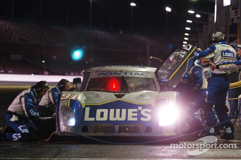 #91 Lowe's Riley-Matthews Motorsports Pontiac Riley: Jim Matthews, Marc Goossens, Jimmie Johnson, Ryan Hunter-Reay