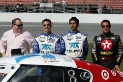 #01 TELMEX Chip Ganassi Lexus Riley: Скотт Прюетт, Сальвадор Дюран і Хуан-Пабло Монтойя