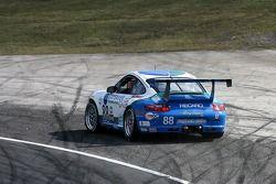 Spin for #88 Farnbacher Loles Motorsports Porsche GT3 Cup: Craig Stanton, Bryce Miller, Antonin Charouz, Justin Jackson, Tom Pank