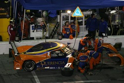 Pitstop for #47 TruSpeed Motorsports Porsche Riley: Charles Morgan, Rob Morgan, Timo Bernhard, BJ Zacharias