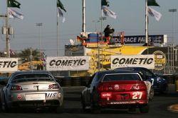 #118 Rotary Power Motorsports Mazda RX-8: Mike Smellie, John Zuccarelli III, #27 Bill Fenton Motorsports Acura RSX - S: Todd Lamb, David Thilenius