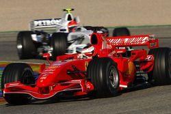 Kimi Raikkonen ve Robert Kubica