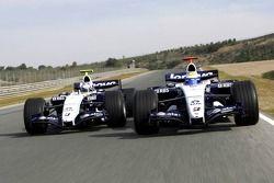 Nico Rosberg and Alexander Wurz