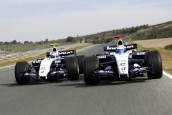 Nico Rosberg ve Alexander Wurz