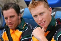 Ian Dyk and Barton Mawer