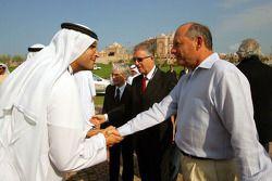 Халдун Аль-Мубарак и руководитель команды McLaren Рон Деннис