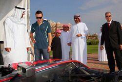 Sheikh Mohammed bin Zayed al Nahayan ve Fernando Alonso