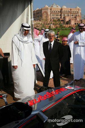 Sheikh Mohammed bin Zayed al Nahayan ve Bernie Ecclestone