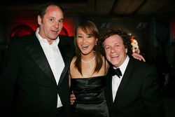 Gala dinner: Gerhard Berger and Leo Sayer