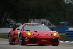 #62 Risi Competizione Ferrari 430 GT Berlinetta: Mika Salo, Jamie Melo