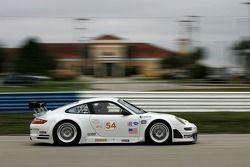#54 Team Trans Sport Porsche 911 GT3 RSR: Tim Pappas, Mike Fitzgerald, Terry Borcheller, Federico Mo