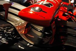 Spyker-Ferrari F8-VII: Nase