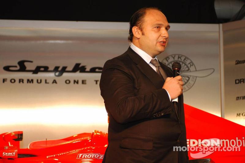 Colin Kolles, Spyker F1 Team, Team Principal