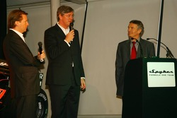 Michiel Mol, Director of Formula One Racing, Spyker and Spyker F1 Team, Victor Muller, Chief Executi