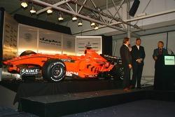 Michiel Mol, Direktör, Formula 1 Racing, Spyker ve Spyker F1 Team, Victor Muller, Şef Sorumlusu, Spy