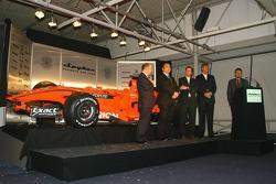 Mike Gascoyne, Spyker F1 Team, Chief Technology Officer, Colin Kolles, Spyker F1 Team, Takım Patronu