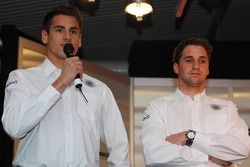 Adrian Sutil und Christijan Albers; Spyker-Ferrari