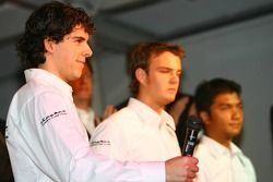 Adrian Valles; Giedo van der Garde; Fairuz Fauzy, Spyker-Ferrari