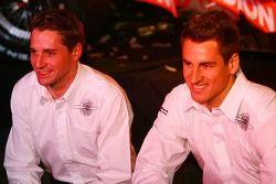 Christijan Albers und Adrian Sutil; Spyker-Ferrari