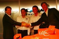 Michiel Mol, Christijan Albers, Giedo van der Garde ve Victor Muller