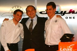 Christijan Albers; Colin Kolles; Adrian Sutil, Spyker-Ferrari