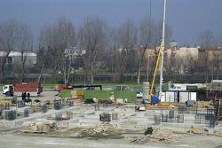 Construction work, Imola Circuit Autodromo Enzo E Dino Ferrari