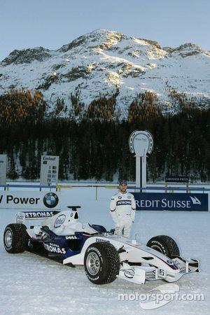 Nick Heidfeld with the BMW Sauber F1