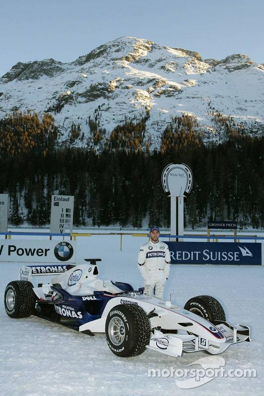 Nick Heidfeld ve BMW Sauber F1