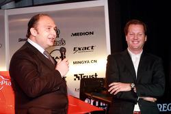 Colin Kolles und Michiel Mol, Spyker-Ferrari