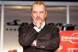 Spyker-Ferrari F8-VII Chief Technical Officer Mike Gascoyne