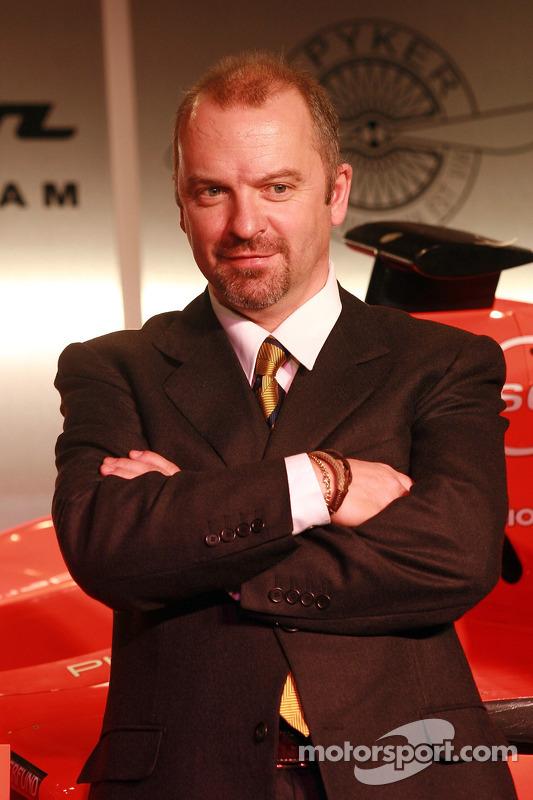 Chef-Techniker Mike Gascoyne, Spyker-Ferrari