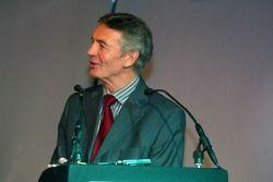 TV Presenter Tony Jardine hosts the launch