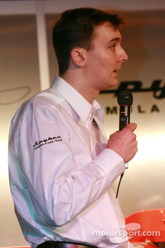Teschnischer Direktor James Key, Spyker-Ferrari