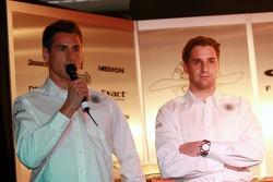 Adrian Sutil und Christijan Albers, Spyker-Ferrari