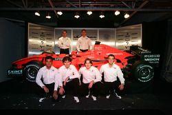 Adrian Valles; Fairuz Fauzy; Christijan Albers; Adrian Sutil; Giedo van der Garde; Marcus Winkelhock