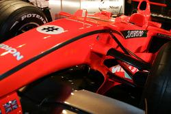 Spyker-Ferrari F8-VII: Frontpartie